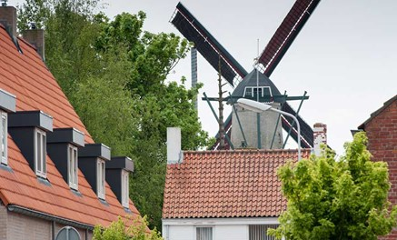 The mill in the Municipality of Sluis