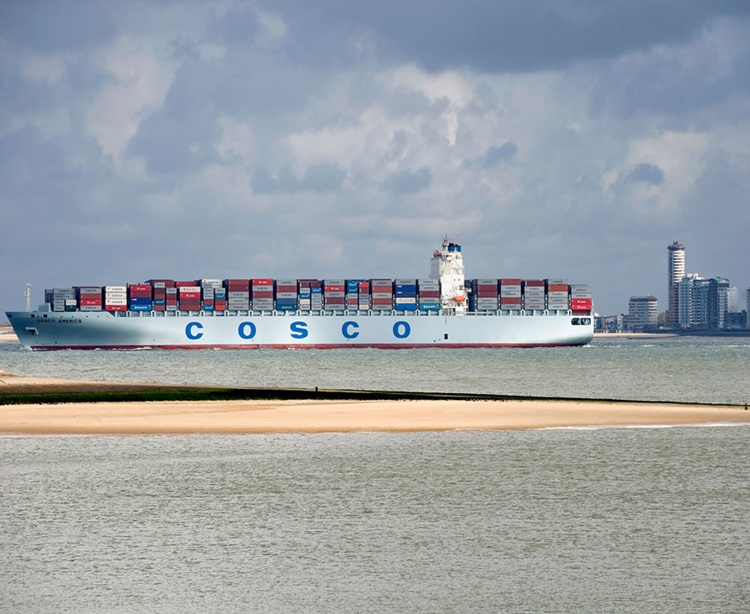 Containerschip Vlissingen